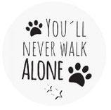 Schlüsselanhänger - You´ll never walk alone