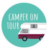 Schlüsselanhänger - Camper on Tour
