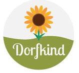 Schlüsselanhänger -  Dorfkind Sonnenblume