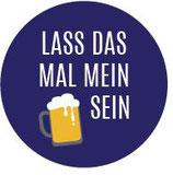 Kronkorken - Schlüsselanhänger - Lass das mal mein Bier sein