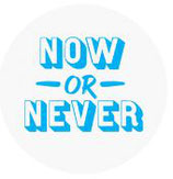 Schlüsselanhänger - Now or never