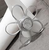 Kleine Blume Silber Anhänger