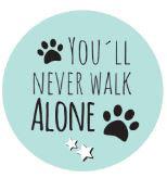 Kronkorken - Schlüsselanhänger - you´ll never walk alone
