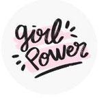 Schlüsselanhänger - Girl power