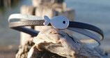 Armband 5mm Blau mit Fisch