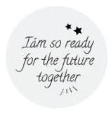 Kronkorken - Schlüsselanhänger - I´m so ready for the future together