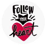 Schlüsselanhänger - Follow your heart