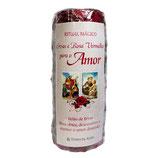 Velão de Ervas e Rosa Vermelha para o Amor