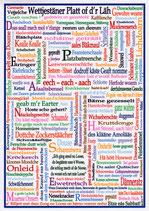 Wittgensteiner Platt Poster Ö-frei