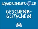 Roadrunner Geschenkgutschein AUTO