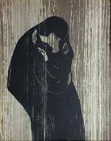 ムンク「接吻Ⅳ」作品のみ ※和紙に印刷