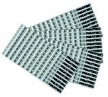 REATEC Temperaturindikatoren Standard Aluminium Ausführung Checkheftchen