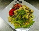14. Gemischter Salat mit Hühnchenbruststreifen