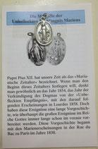 Wunderbare Medaille mit Beschreibung
