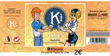 Etiquette papier de la bière KiOne