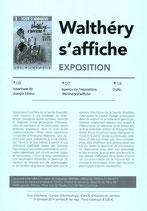 Programme de l'exposition ''Walthéry s'affiche'' - Tour d'Anhaive - 2019
