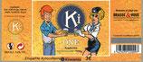 Etiquette autocollante de la bière KiOne