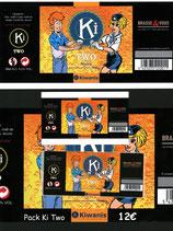Pack étiquettes de la bière KiTwo