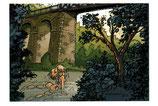 Carte postale Viaduc de St Benoit Ligugé