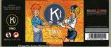 Etiquette autocollante de la bière KiTwo
