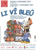 Affiche ''Vieux bleu''