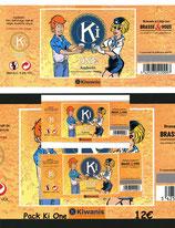 Pack étiquettes de la bière KiOne