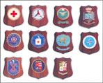 Mini Crest varie specialità