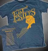 Tour-T-Shirt [blau]