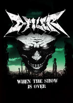 "T-Shirt D-Filer ""When The Show Is Over"" Gildan Heavy T"