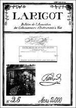 Larigot 25 - 1er semestre 2000