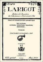 Larigot spécial XIII - 2002