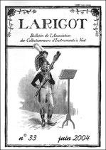Larigot 33 - 1er semestre 2004