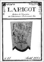 Larigot 27 - 1er semestre 2001