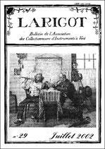 Larigot 29 - 1er semestre 2002