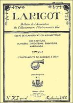 Larigot spécial XI - 2000