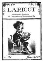 Larigot 31 - 1er semestre 2003