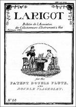 Larigot 10 - 1er semestre 1992