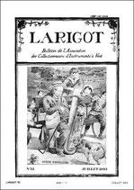 Larigot 52 - 2e semestre 2013