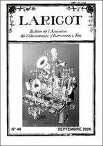 Larigot 44 - 2e semestre 2009
