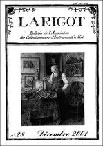 Larigot 28 - 2e semestre 2001