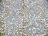 【標準サイズ】100×200㎝ アッサム手繰り綿 手作り敷きふとん 〈40サテン 小花〉