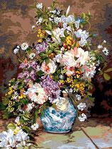 940 14 VASO DI FIORI Pierre Auguste Renoir il bouquet