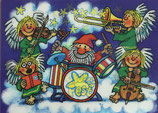 Wackelbildpostkarte Frohes Fest