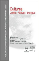 Christian Kanzian and Edmund Runggaldier, Cultures. Conflict - Analysis - Dialogue