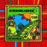 Kinderlieder 2 von Wunderbundt (CD und Buch)