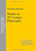 Rescher Nicholas, Studies in 20th Century Philosophy