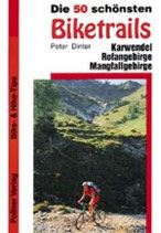 Peter Dinter, Die 50 schönsten Biketrails