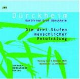 Karlfried Graf Dürckheim, Die drei Stufen menschlicher Entwicklung (CD)