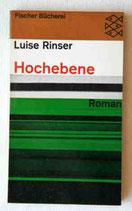 Ronser Luise, Hochebene - Roman (antiquarisch)