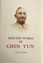 Selected works of Chen Yun, 1926-1949 (englisch) (antiquarisch)